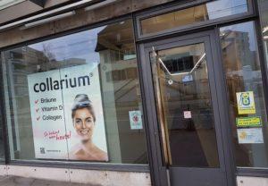 Das Solarium wird zum Collarium!